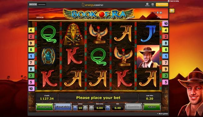 de online casino bookofra online